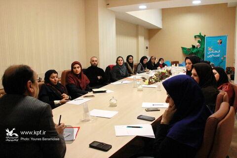 انجمن قصه گویی کانون پرورش فکری استان تهران، به ایستگاه چهارم رسید