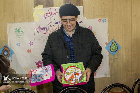 «سفیر لبخند بچهها» مهمان انجمن ادبی آفرینش همدان