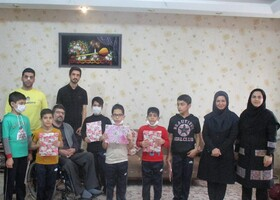بازدید مدیرکل کانون پرورش فکری گلستان از موسسه فرهنگی هنری سرای یاران بصیر