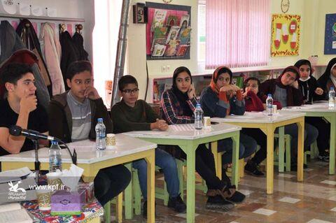 سومین جلسه انجمن قصه گویی در کانون البرز
