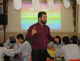 برپایی کارگاههای فرهنگی هنری برای نوجوانان کانون اصلاح و تربیت گرگان