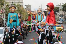 شادپیمایی عروسکها در بیستودومین جشنواره بینالمللی قصهگویی