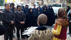بازدید دبیر مرجع ملی کنوانسیون حقوق کودک از کانون لرستان