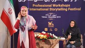 کارگاه آموزش قصهگویی ساره قصیر از لبنان در بیستودومین جشنواره بینالمللی