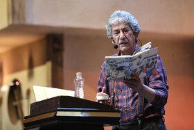 قصهخوانی آقای حکایتی در بیستودومین جشنواره بینالمللی قصهگویی