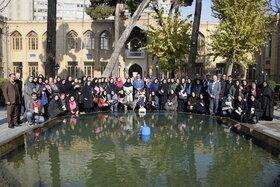 نشست فصل پاییز کانون استان تهران در مدرسه دارالفنون