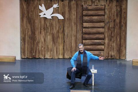 قصهگویی مصطفی رحماندوست در بیستودومین جشنواره بینالمللی قصهگویی