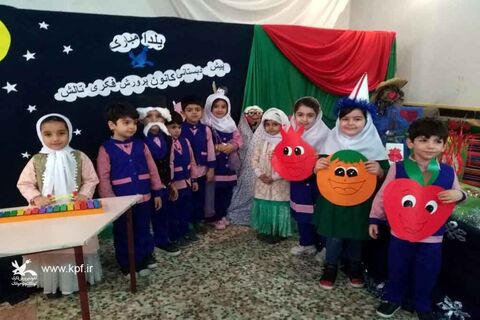 جشن یلدا در مرکز فرهنگی هنری کانون تالش