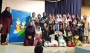 برگزاری کارگاه رنگ و لعاب یلدایی درمرکز تخصصی سفال بندرعباس