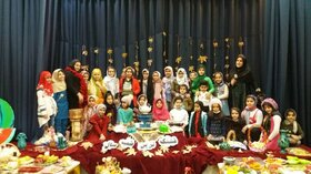گردهمایی بزرگ کودکان و نوجوانان به بهانه بلندترین شب سال در ویژه برنامه های کانون پرورش فکری