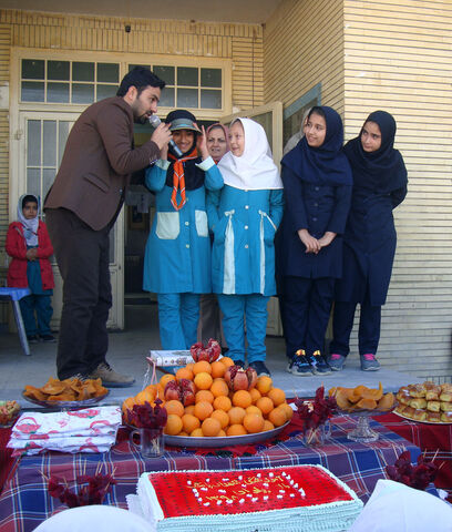 نکوداشت یلدا در قالب فعالیتهای فرهنگیهنری کتابخانه سیار روستایی کانون گالیکش
