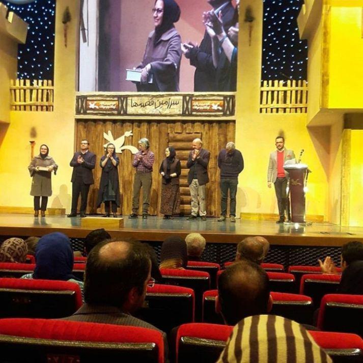 فریده محمودی ، ساره وفا برگزیده بیست و دومین جشنواره بین المللی قصه گویی