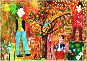 سه نشان و ۴۷ دیپلم افتخار سهم کودکان هنرمند ایران از مسابقهی نقاشی تاشکند
