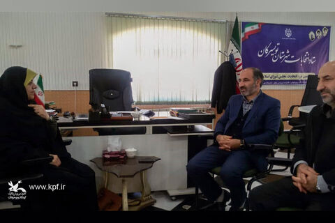 دیدار مدیرکل کانون پرورش فکری استان همدان با فرماندار تویسرکان