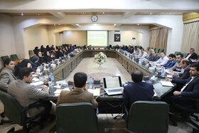 گردهمایی مسئولین منابع انسانی و پشتیبانی