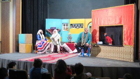 استقبال از اجرای نمایش«مبارک و یلدا» در مجتمع کانون استان قزوین