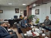 دیدار مدیرکل کانون استان با مدیر عامل شرکت گاز استان
