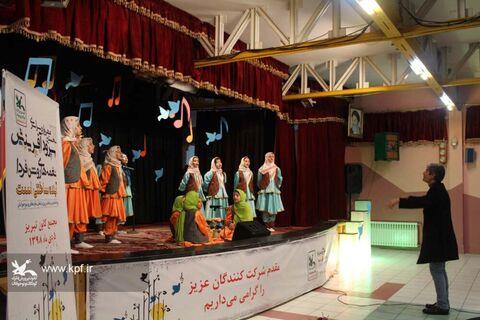 برگزاری مرحله استانی مهرواره سرود آفرینش در کانون آذربایجان شرقی