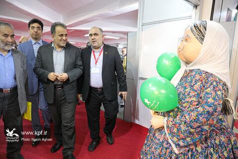 بازدید معاون وزیر اقتصاد از پنجمین جشنواره ملی اسباببازی