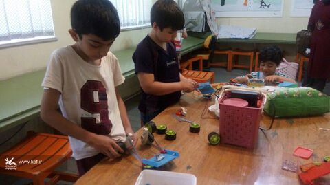 درخشش اعضای کانون لرستان در مسابقات رباتیک
