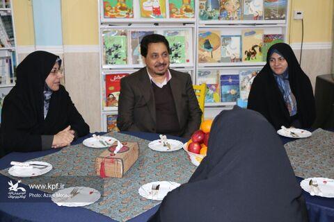 بازدید دبیر مرجع ملی کنوانسیون حقوق کودک از کانون فارس