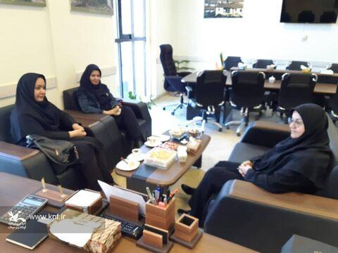 دیدار مدیرکل کانون با معاون توسعه مدیریت و منابع استاندار گلستان