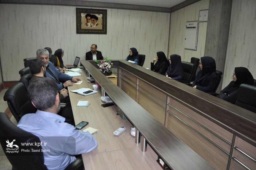 جلسه هماهنگی کمیتههای اجرایی اولین مهرواره سرود «آفرینش» زنجان