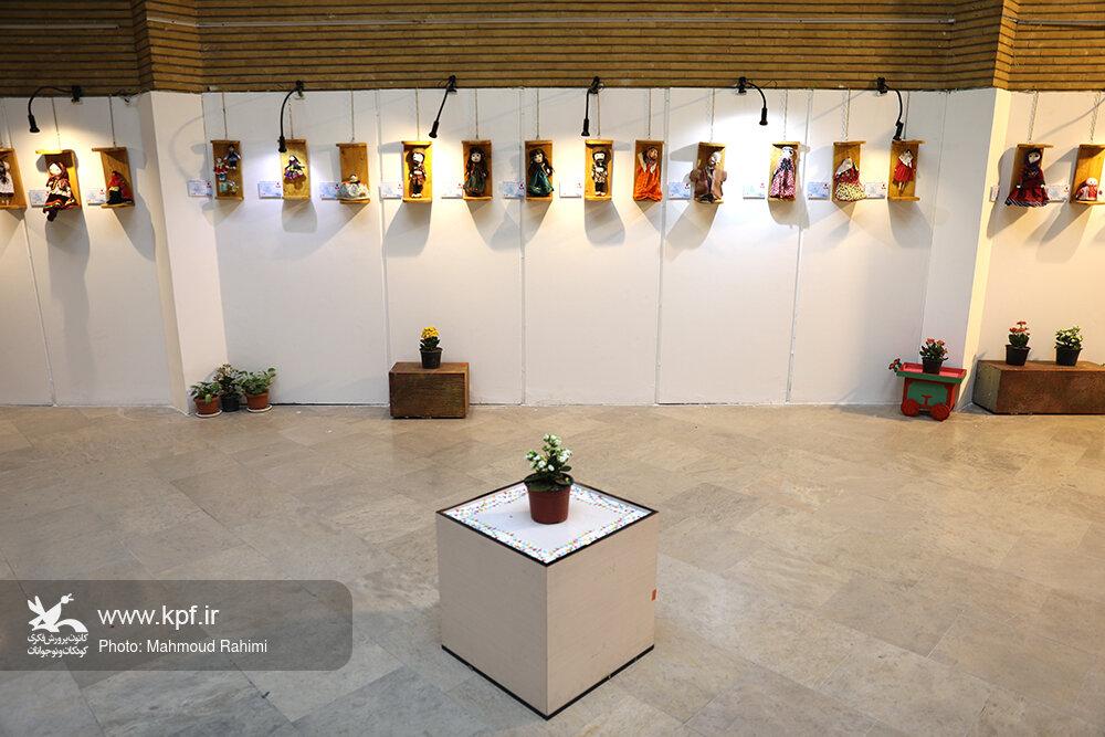 برپایی نگارخانه عروسکها در جشنواره ملی اسباببازی