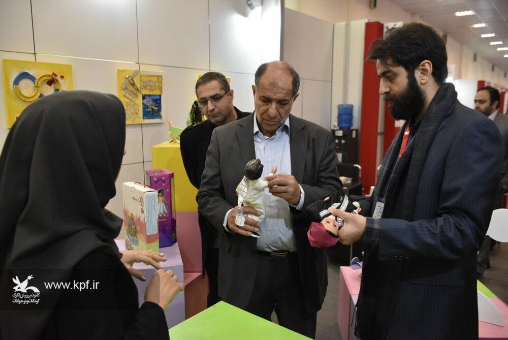بازدید مصطفی محمد نجار از جشنواره ملی اسباببازی