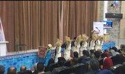 اعضای کانون شهربابک در نیستان آتش افروختند