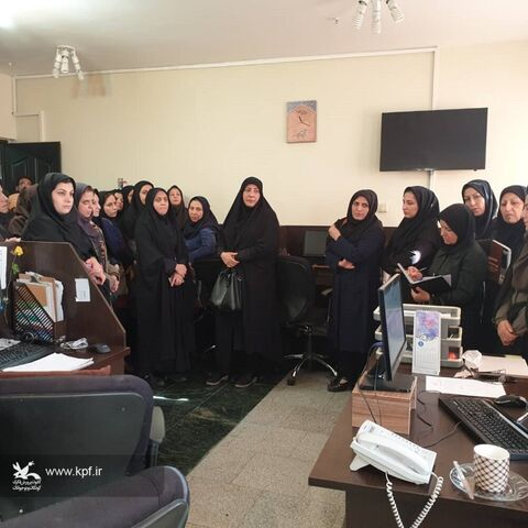 بازدیدمسئولان و مربیان کانون پرورش فکری کودکان و نوجوانان از مجتمع مطبوعاتی اصفهان