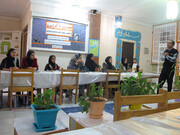 حضور اعضا انجمن کلاکت در کارگاه عصری با کارتون