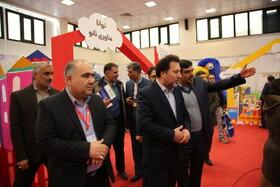بازدید معاون آموزش متوسطه وزارت آموزش و پرورش از پنجمین جشنواره اسباببازی