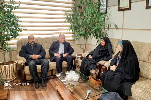 دیدار مدیرکل کانون استان همدان با مدیرعامل شرکت آبوفاضلاب شهری استان همدان