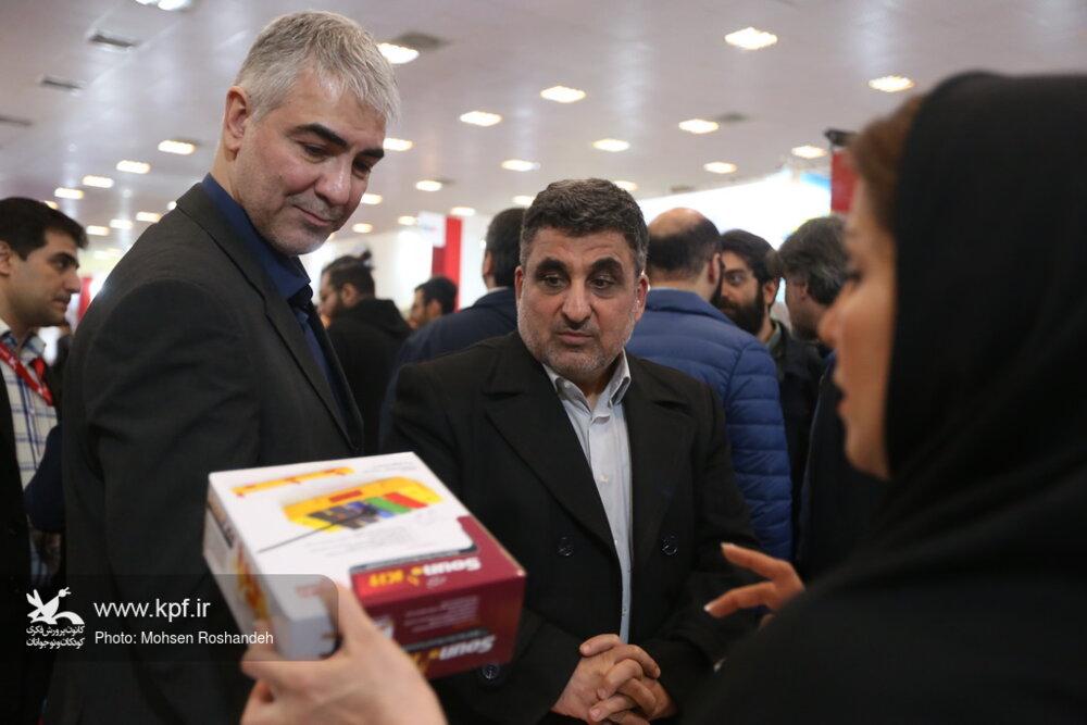 بازدید معاون وزیر دفاع و پشتیبانی نیروهای مسلح از پنجمین جشنواره ملی اسباببازی