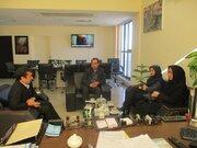 مدیرکل کانون پرورش فکری گلستان با معاون اقتصادی استانداری دیدار کرد