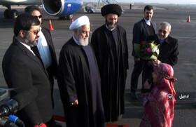 خوشآمد گویی عضو مرکز شماره ۲ کانون اردبیل به رئیسجمهور
