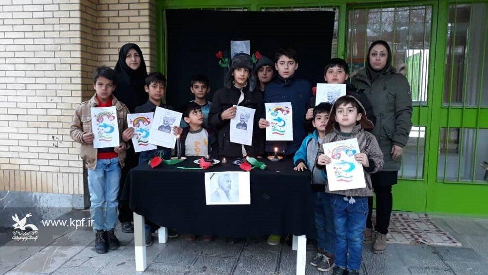 به یاد سردار بزرگ ایرانی ویژه برنامه ای در مرکز فرهنگی هنری کانون پرورش فکری شماره یک خوانسار برگزار شد