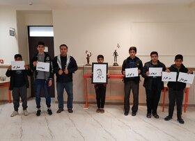 ویژهبرنامههای مراکز کانون پرورش فکری استان کرمانشاه در سوگ شهادت سردار سلیمانی