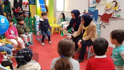 غرفه کانون استان تهران در پنجمین جشنواره ملی اسباب بازی/ عکس: نرگس موسوی