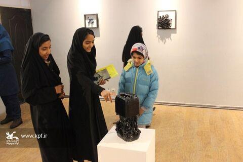 نمایشگاه «مرگ آب» میزبان اعضای مرکز شماره دو بیرجند