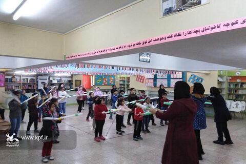 انجام فعالیتهای بازیمحور در مرکز فرهنگیهنری شماره دو کانون سمنان
