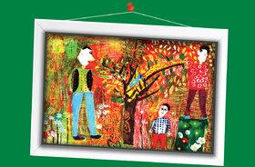 برگزیدگان هفتمین مسابقه بینالمللی دوسالانه نقاشی تاشکند (۱)