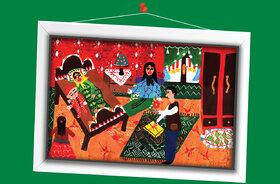 هدیه جعفرپور 10 ساله از اردبیل برگزیده مسابقه نقاشی تاشکند ازبکستان