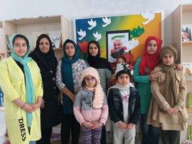 ویژهبرنامههای مراکز کانون پرورش فکری استان کرمانشاه در سوگ شهادت سردار سلیمانی(۲)