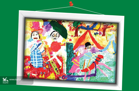پارسا بهرامی-9 ساله- اصفهان برگزیده مسابقه نقاشی تاشکند ازبکستان