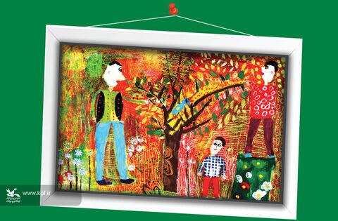 «امیرمحمد صادقیزاده» ۱۰ ساله از لارستان فارس برگزیده مسابقه نقاشی تاشکند ازبکستان