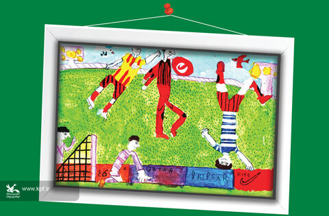حسام مردانی  11 ساله از اصفهان برگزیده مسابقه نقاشی تاشکند ازبکستان