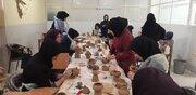 دوره آموزش سفالگری با چرخ ویژه مربیان هنری کانون پرورش اصفهان برگزار شد