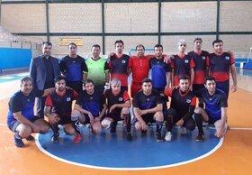 موفقیت تیم فوتسال کانون فارس در مسابقات سراسری کارکنان